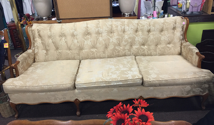 Beige Formal Sofa