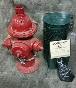 Fire Hydrant Doggie Disposal Dogs Best F