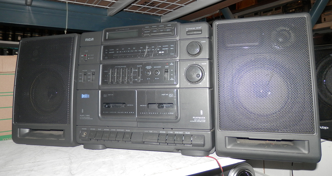 RCA Boombox Stereo