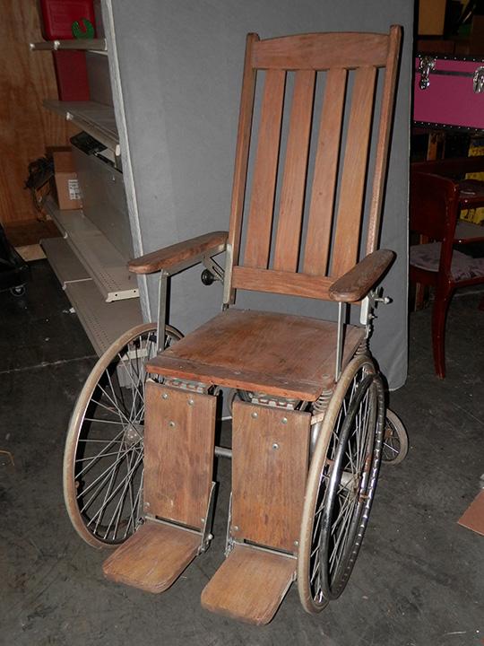Wood Slat Wheelchair