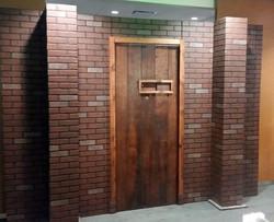 Speakeasy Door and Wall for Delta