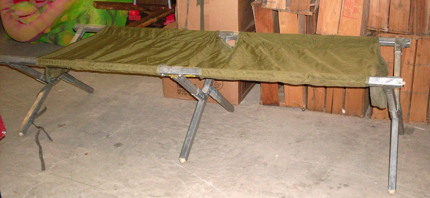 Folding Cots - Metal Frame