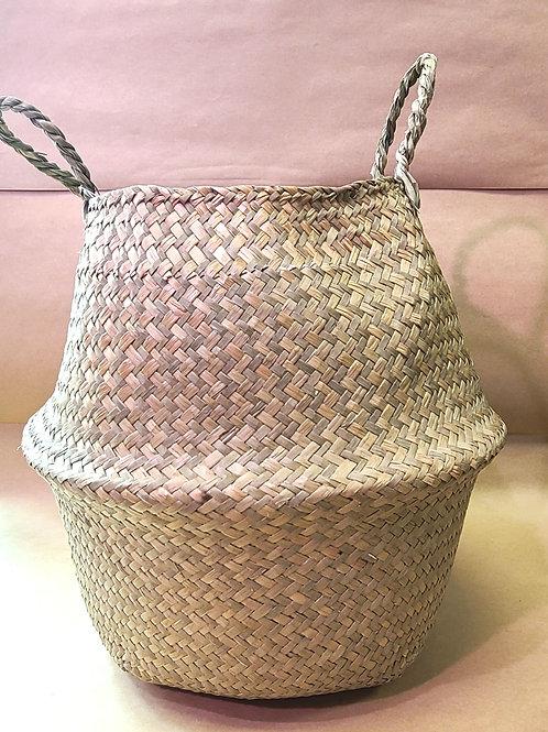 "10"" Seagrass basket"
