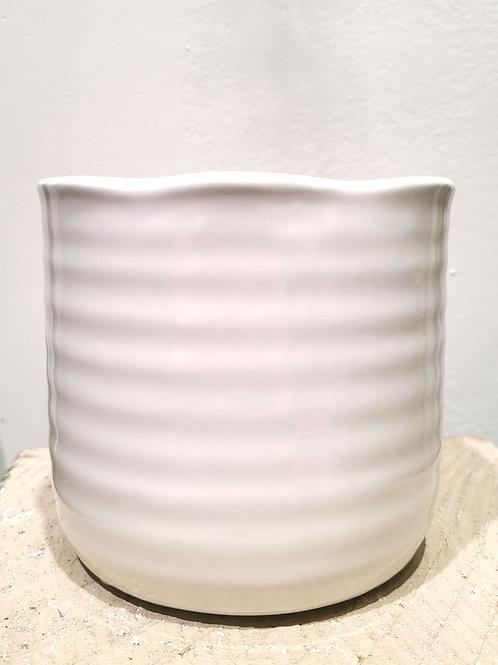 "4"" Glossy ceramic planter"