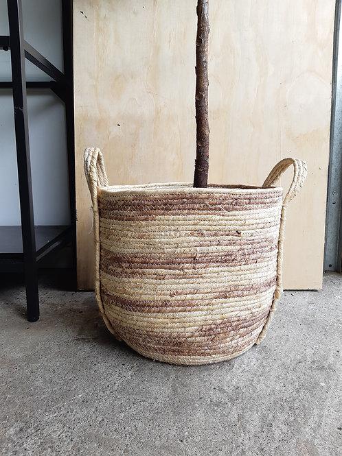 """10"""" Natural grass basket"""