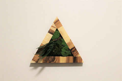 Forest collection : Triangle wall frame