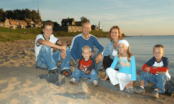 Reportage Driekus & gezin