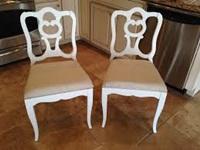 Chaises rénovées
