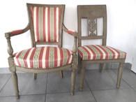Restauration de fauteuil et chaise par T