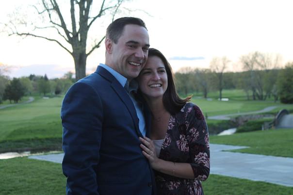 Rebecca Harris and Jeff got engaged!