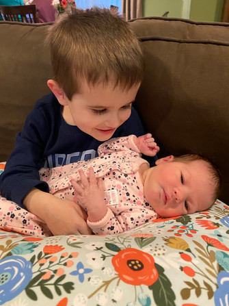 MHS Math teacher, Sara and her husband Chris, welcome their daughter, Natalie Gail Botsakos. Born on January 25th, she was 7lbs 6oz and 21 inches long. Natalie's big brother Andrew thinks she's just perfect!