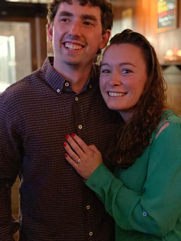Sussex Ave. School's 4th grade special education teacher, Bridget Byrne and her boyfriend, John Serafin, were engaged on February 29, 2020 (Leap day!) in Summit, NJ. He asked at the spot they would meet to go out to dinner in the first year they were dating. They plan on getting married in June of 2021 in Long Beach Island!