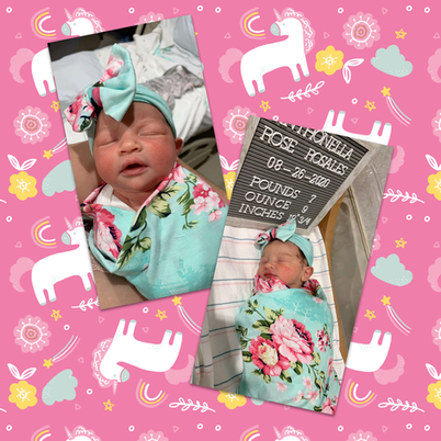 Rosario Acevedo, MHS World Language teacher, and her husband welcomed a little girl, Anthonella Rose, weighing 7 lbs. 9 oz. Anthonella was born on August 26, 2020. Mom and baby are doing great!