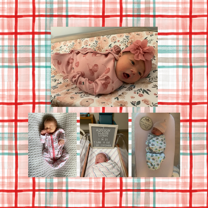 Addison Claire Lipari made her debut on January 14, 2021 at 1:23pm! Mom and baby are both recovering and doing very well! Erin Lipari is a first grade teaher at Hillcrest. Welcome to the TEAM family, Addison!