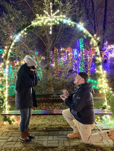 John McDonald MHS class of 2010, son of Sharon McDonald, FMS nurse, and Gene McDonald, ABS at TJ, asked his college sweetheart, Kate Drudy to marry him on December 6, 2019. John is a Middle School Technology Education Teacher in the  Northern York County School District.
