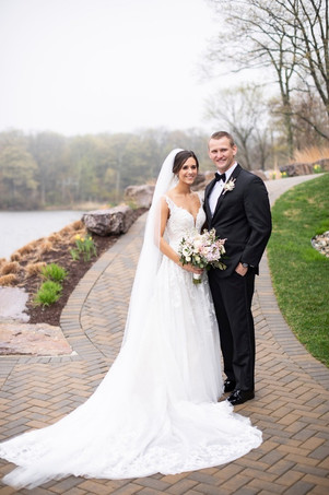 Scott Jacobus, a football and spring track coach at Morristown High School, and Amy were married on April 26, 2019.