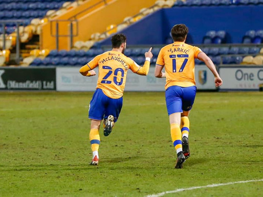 A Point In The Right Direction - Mansfield 1-1 Carlisle.