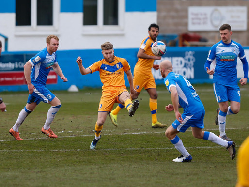 Stags See Red Again - Barrow 2-0 Mansfield