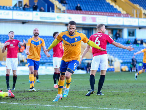 Bowery Bounce Back! Mansfield 1-0 Morecambe