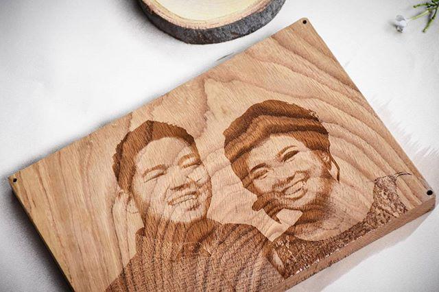 Laser Engrave Pasangan Pengantin