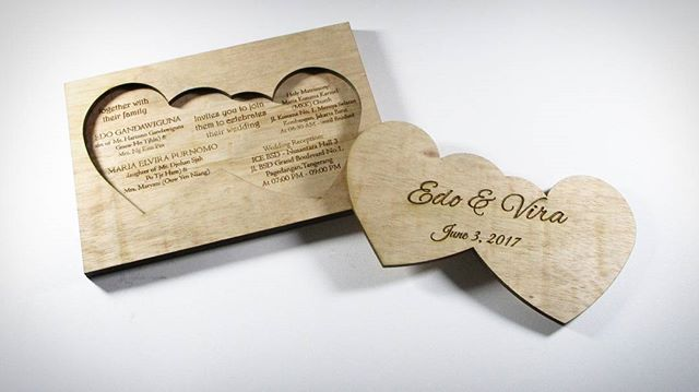 Wedding Invitation Tatakan Gelas Kay