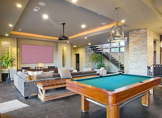 Entertainment Center and Rec Room in Lux