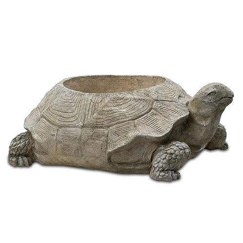 English Turtle Planter Outdoor Garden Decor Pinatubo Volcanic Ash Southeast Metro Arts Inc