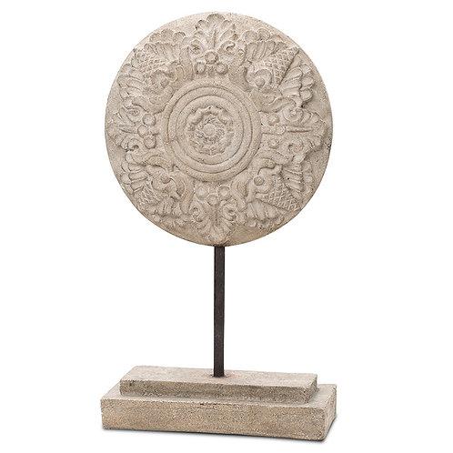 Ornamental Rosetta Pendant Indoor Decor Pinatubo Volcanic Ash Southeast Metro Arts Inc