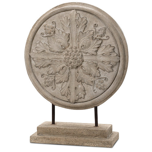 Ornamental Rosetta Disc Indoor Decor Pinatubo Volcanic Ash Southeast Metro Arts Inc.