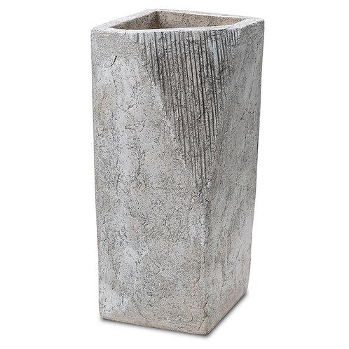 "Ethnic Origami Vase 12"" Indoor Decor Pinatubo Volcanic Ash Southeast Metro Arts Inc."