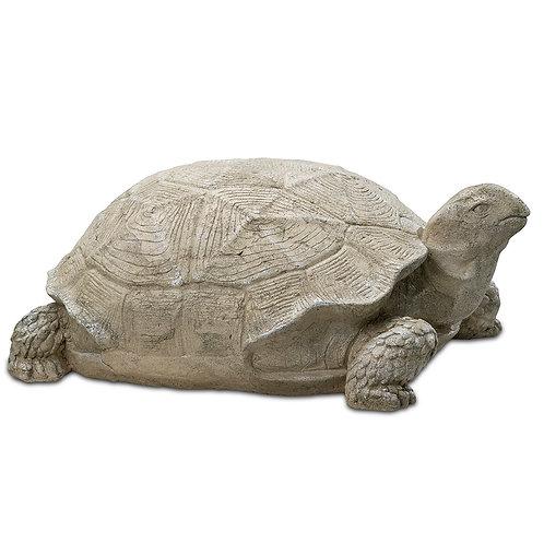 English Turtle Oudoor Garden Decor Pinatubo Volcanic Ash Southeast Metro Arts Inc