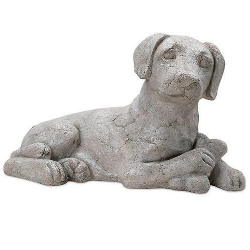 Sitting Beagle Dog With Bone Outdoor Garden Decor Pinatubo Volcanic Ash Southeast Metro Arts Inc.