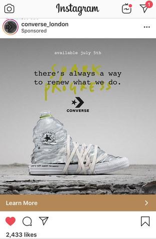 Converse Renew campaign photograph