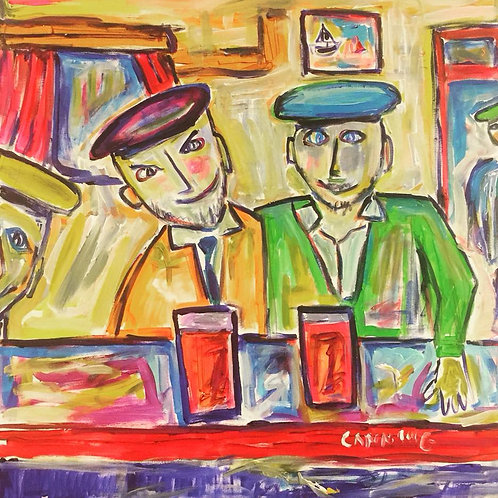 Two Guys in a Pub