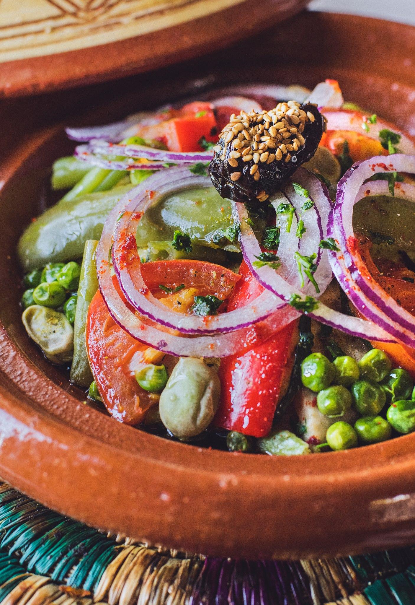 Tajine de Verduras