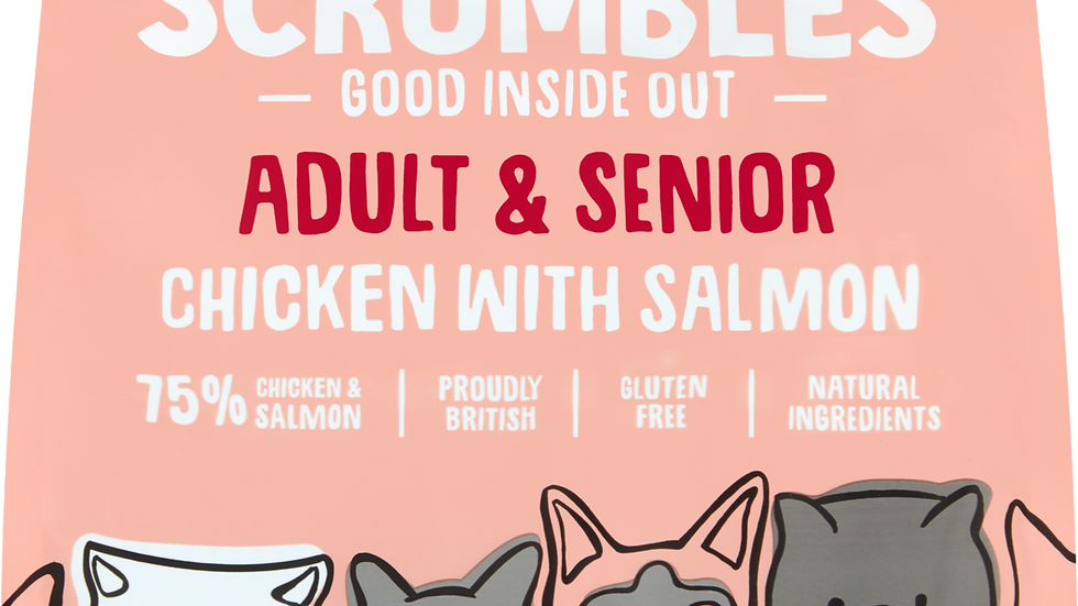 Adult Cat - Chicken with Salmon