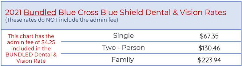 bcbsm bundled dental and vision rates.jp