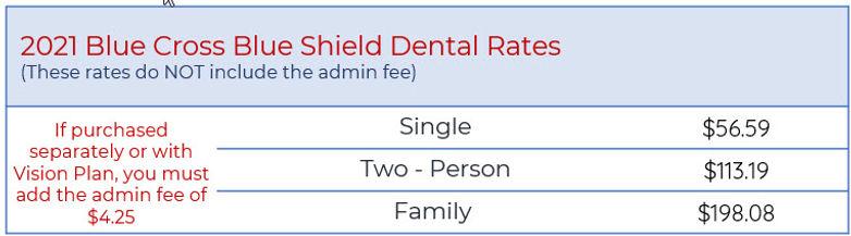 bcbsm dental rates auto airline steel b.