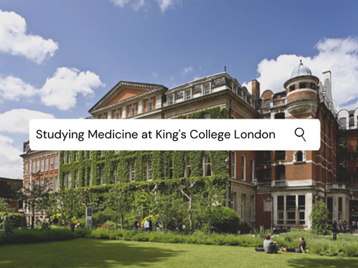 Studying Medicine at King's College London