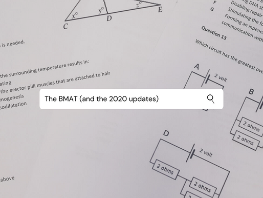 The BMAT (and the 2020 updates)