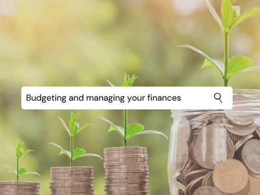Budgeting and managing your finances (what I've learnt so far)