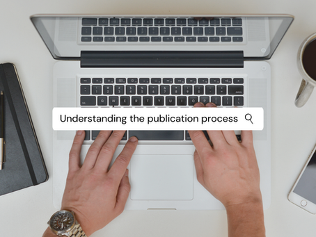 The publishing process - a brief overview