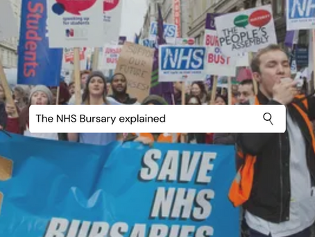 NHS Bursary Explained