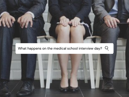What happens on the Medical School Interview day?