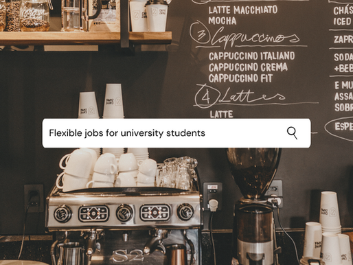 Flexible jobs for university students