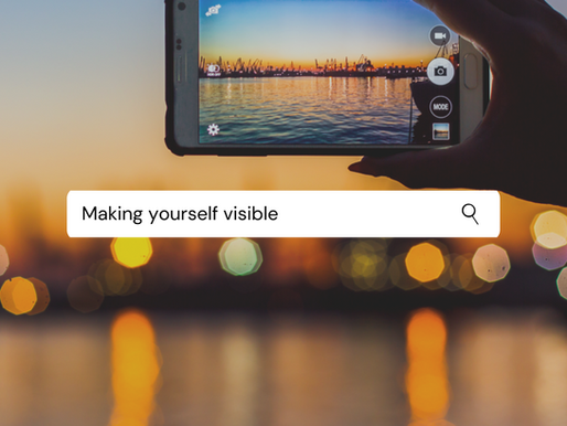 Making yourself visible