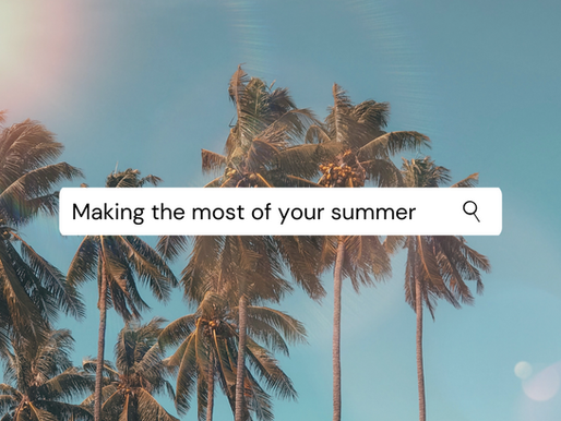 Making the most of your summer (as a medical student)