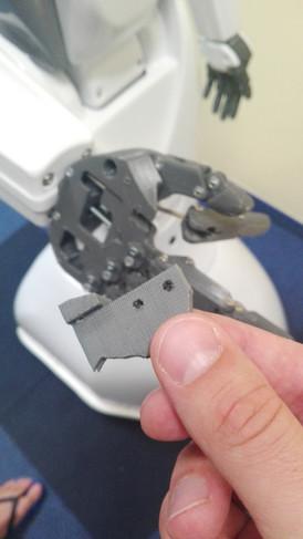 Restoration of broken parts