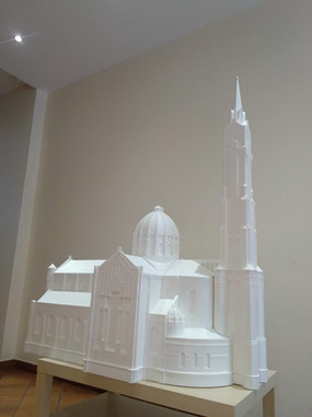 Production of architectural tactile 3D models