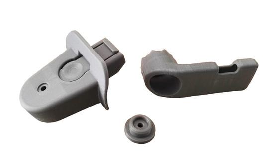 3D production of plastic parts